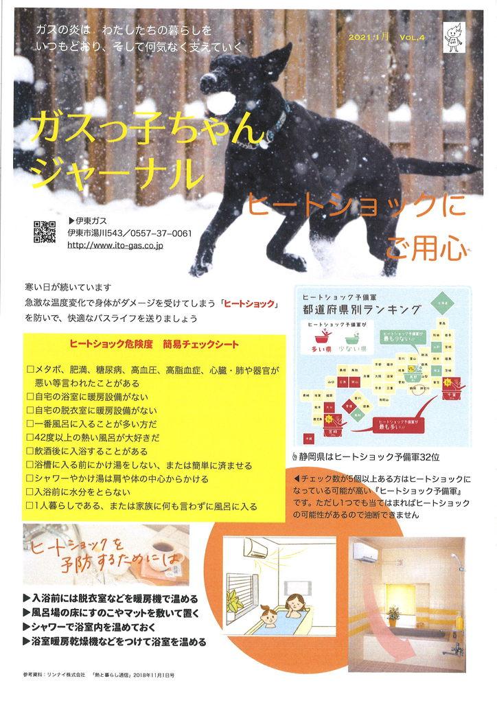 ガスっ子ちゃんジャーナル2021年新春号