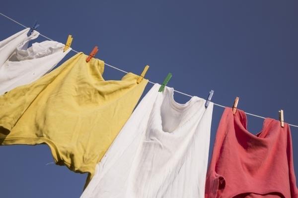 洗濯干すの、やめません...